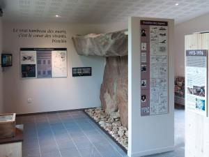 La section sur l'art et les symboles mégalithiques
