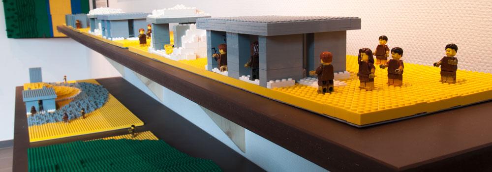 Les maquettes Lego du Musée des mégalithes de Changé