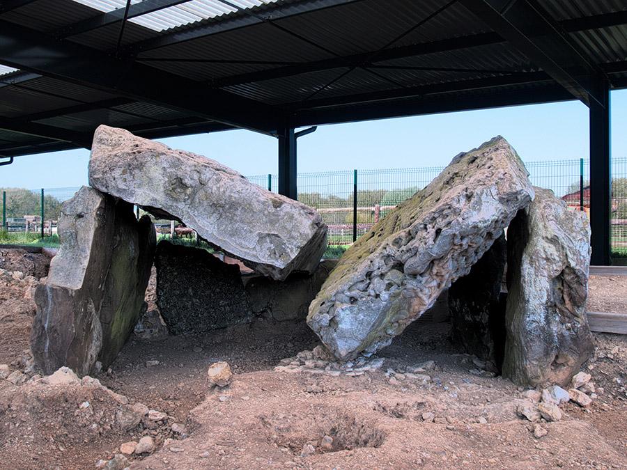 Le dolmen du Berceau - G. Massart